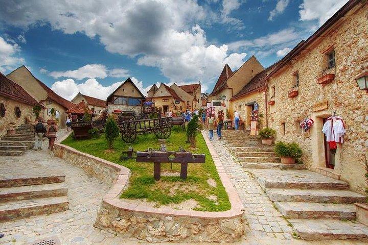 Bran (Dracula) Castle, Bear Sanctuary, Rasnov Fortress and Palinca Distillery, Brasov, RUMANIA