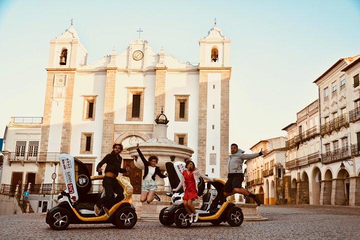 Evora Freedom: Self-Drive Private City Tour in E-Cars, Distrito de Setúbal, PORTUGAL