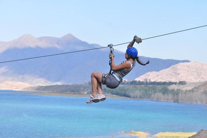 Adventure Day- Rafting & Zip-line by Argentina Rafting Expeditions, Mendoza, ARGENTINA