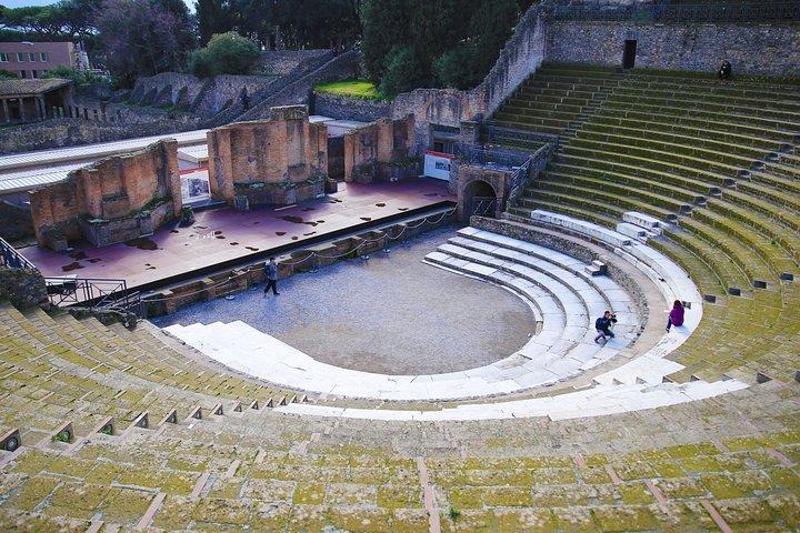 Skip-the-Line Exclusive Private Ancient Pompeii & Vesuvius Volcano Full Day Tour, Naples , ITALY