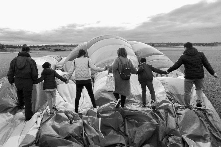 Hot Air Balloon Tasmania, Launceston, AUSTRALIA