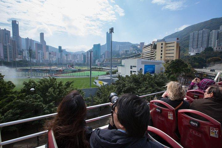 Recorrido en autobús con paradas libres por Hong Kong de Big Bus, Hong Kong, CHINA