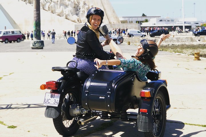 Private Tour: Best of Lisbon by Sidecar, Lisboa, PORTUGAL