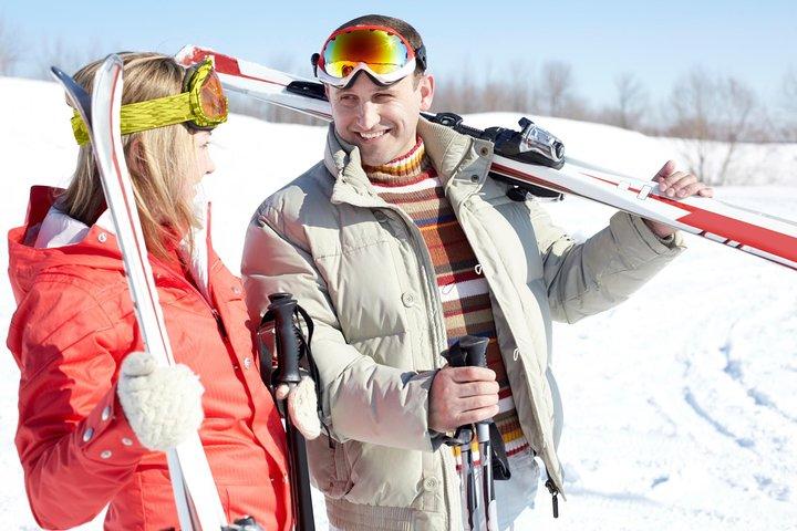 Escapada de un día de esquí para principiantes a la región de esquí de Jungfrau desde Zúrich, Zurich, SUIZA
