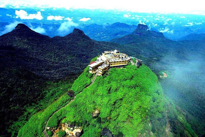Overnight Hiking and Trekking Tour to Adams peak via Peak Wilderness sanctuary, Nuwara Eliya, SRI LANKA
