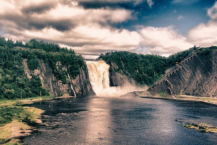 Small Group Excursion of Quebec City and Montmorency Falls, Quebec, CANADA