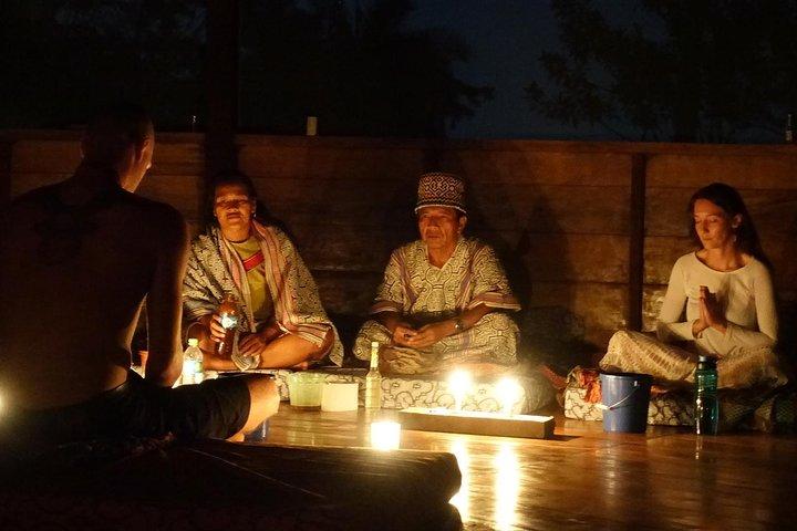 Mystic Shaman Ceremony in the Jungle, Tena, ECUADOR