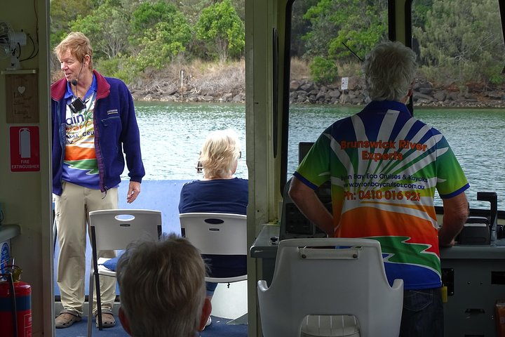 Morning Eco Rainforest River Cruise, Brunswick Heads, Austrália