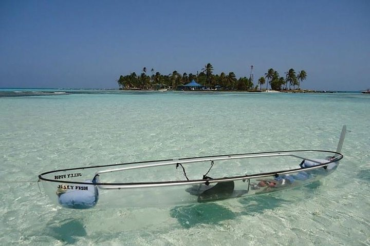Manglares en Kayak, San Andres, COLOMBIA