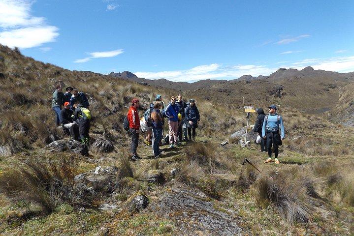 Camping Tour Cajas National Park, Cuenca, ECUADOR