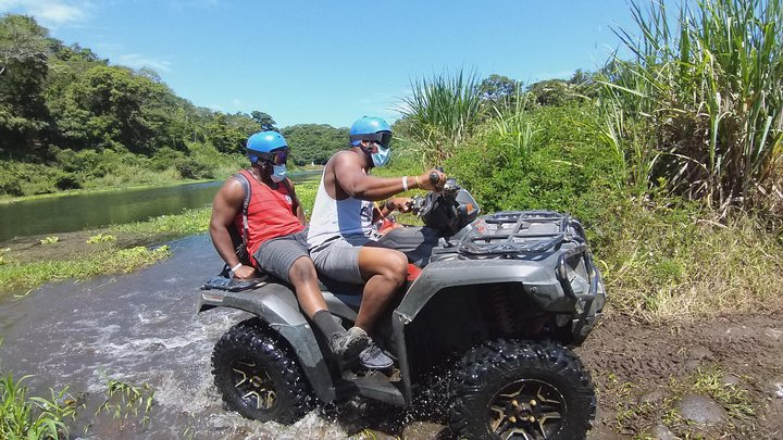 Floating, ATV and Zip Lining Combo Tour, ,