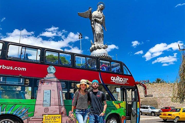 Excursão com várias paradas na cidade de Quito, Quito, Equador