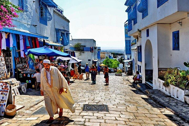 Picturesque Village Of Sidi Bou Said + Tunis Old Medina, ,