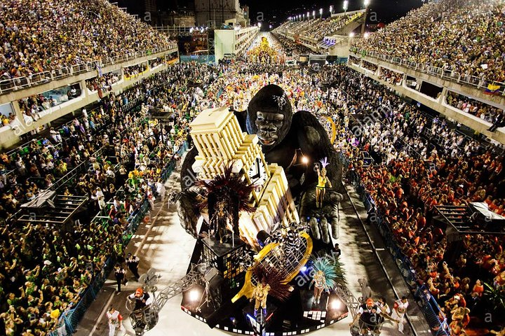 Ingresso Carnaval do Rio de Janeiro - Arquibancadas, Frisas e bilhete de Metrô grátis., Rio de Janeiro, BRASIL