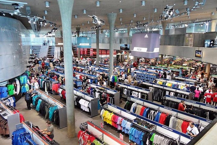 Nuremberg World War 2 and Puma and Adidas Factory Outlet, Nuremberg, GERMANY