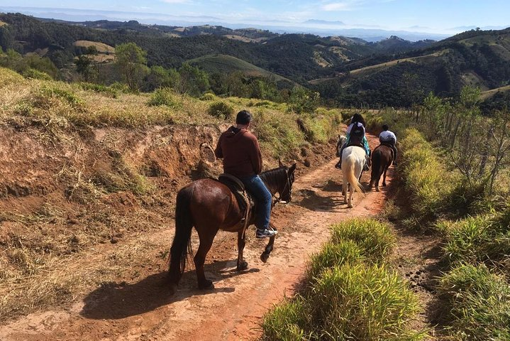 Exclusive Horseback Riding from Paraty with Pic-nic at Belvedere, Paraty, BRASIL