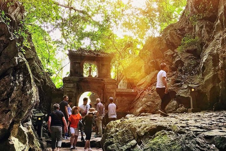 Morning Small group to Marble Mountains - Am Phu Cave - Monkey Mountain, Hoi An, VIETNAM