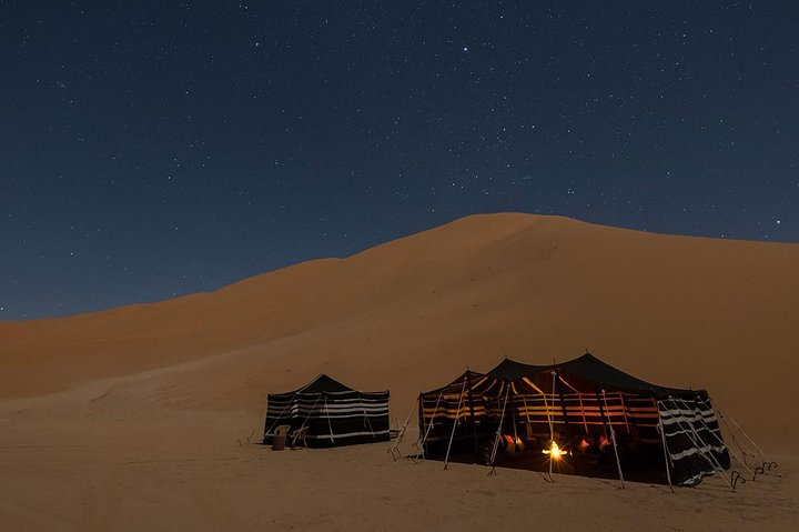 Empty Quarter and Lost City Overnight Camping Tour, Salalah, OMAN