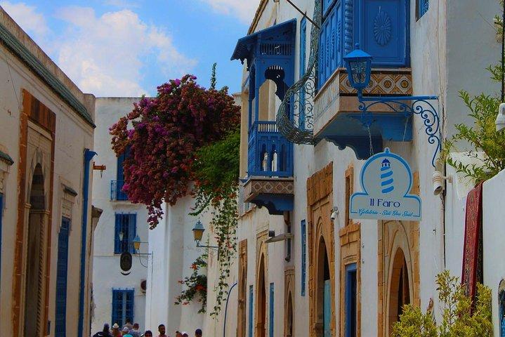Artistic Sidi Bou Said Walking tour, Tunez, Tunísia