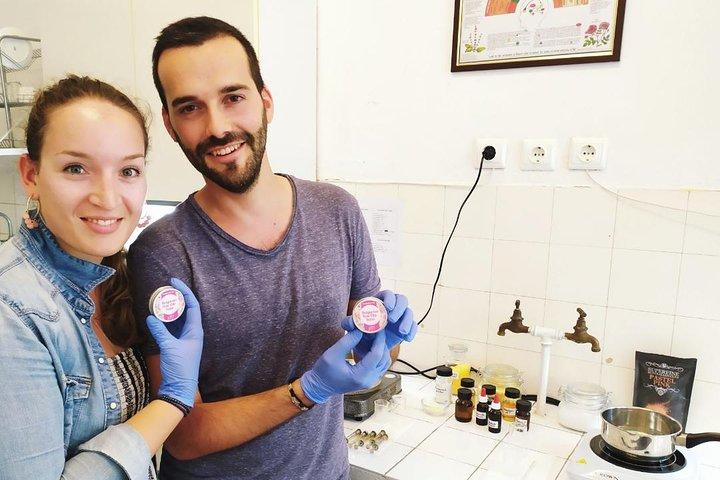 Handmade cosmetics with Rose oil, Sofia, BULGARIA