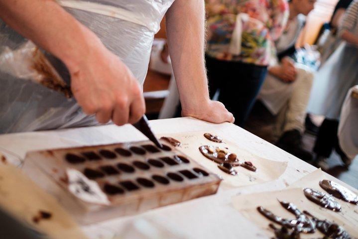 Belgian Chocolate Workshop in Bruges, Brujas, BELGICA