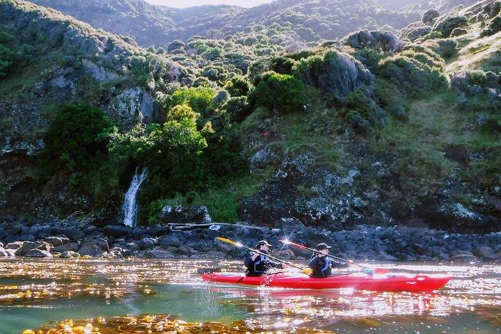 Guided Electric Mountain Bike & Sea Kayak Tour in Akaroa, Akaroa, NUEVA ZELANDIA