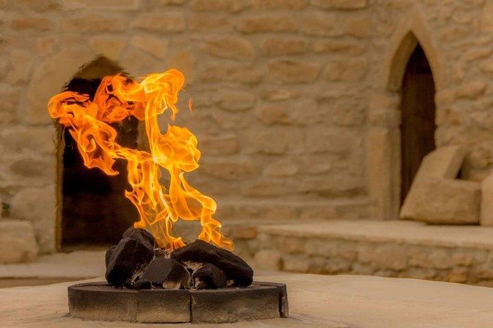 Azerbaijan: the land of burning flames, Baku, AZERBAIYAN