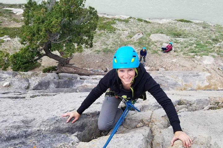 Jasper Rock Climbing Experience, Jasper, CANADA