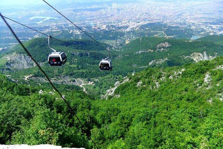 Tirana and Dajti Mountain, Tirana, Albânia