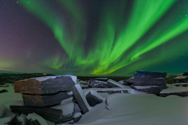 Northern Lights chase in a small group, Alta, NORWAY