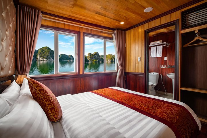 2 Days & 1 Night Lavender Elegance Cruise with Meals,Tickets,Caves,Taichi & More, Hanoi, VIETNAM