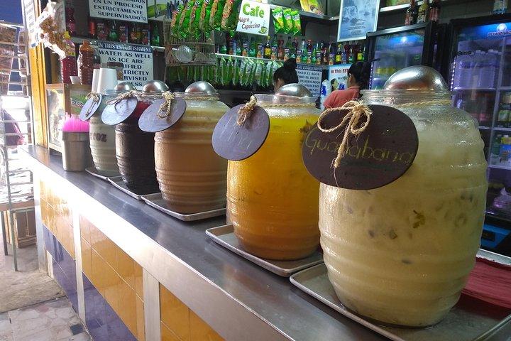 Mercado walking food tour, Mazatlan, MEXICO