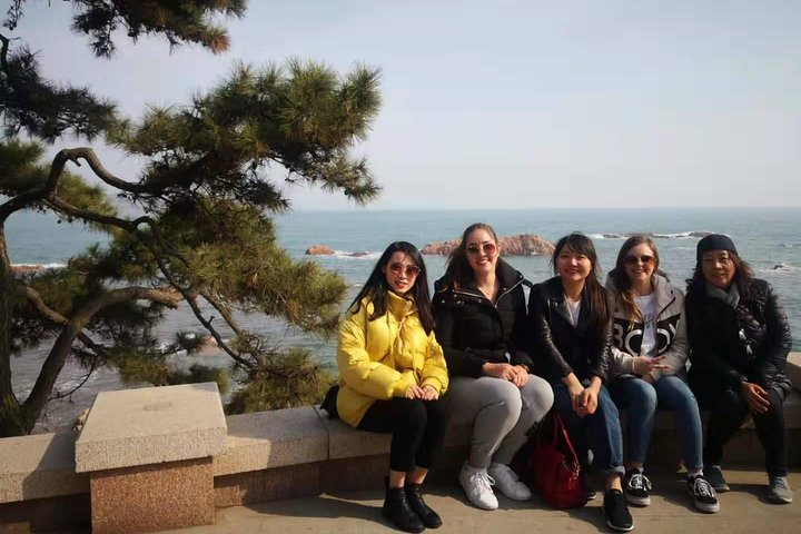 Private Laoshan day tour with lunch and one way cable car to the Mountain, Qingdao, CHINA