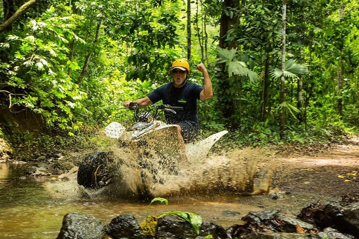 ATV, Zipline and Rappel Combo Tour Jaco, Jaco, COSTA RICA