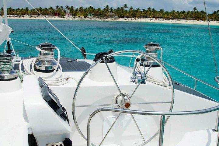 Crucero Prestige en catamarán Quetzal hacia Isla Saona, Punta de Cana, REPUBLICA DOMINICANA