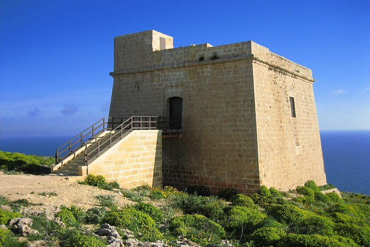 Gozo Full-Day Jeep Tour w/ Private Boat to Gozo & return (to avoid queuing), ,