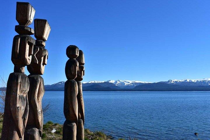 PATAGONIA PUEBLOS ORIGINARIOS: Tehuelche, Mapuche, canoeros, Bariloche, ARGENTINA