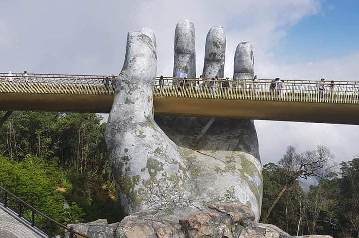 GOLDEN BRIDGE & BA NA HILL Private Tour plus Cable Car ride ,Buffet Lunch,Jungle, Da Nang, VIETNAM