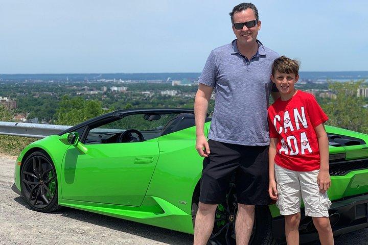 Exotic or Supercar Test Drive on Hamilton Mountain, Toronto, CANADA