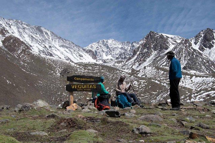 Caminhada de dia inteiro nos Andes, Mendoza, ARGENTINA