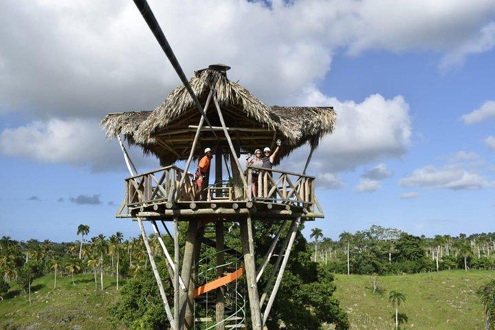 Zip Line (Canopy) Experience, Punta de Cana, REPUBLICA DOMINICANA
