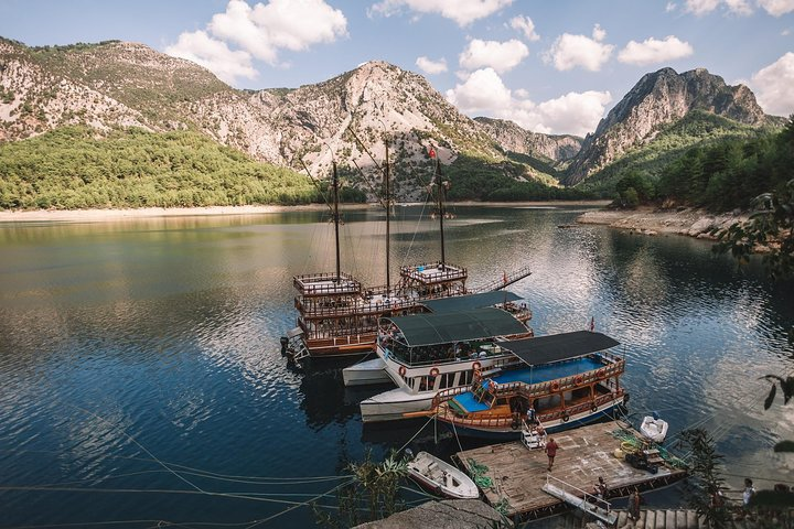 Green Canyon Boat Tour from Side, Side, TURQUIA