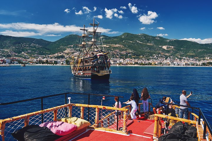 Alanya Sightseeing Tour from Side with 1-Hour Boat Trip and Lunch, Side, TURQUIA