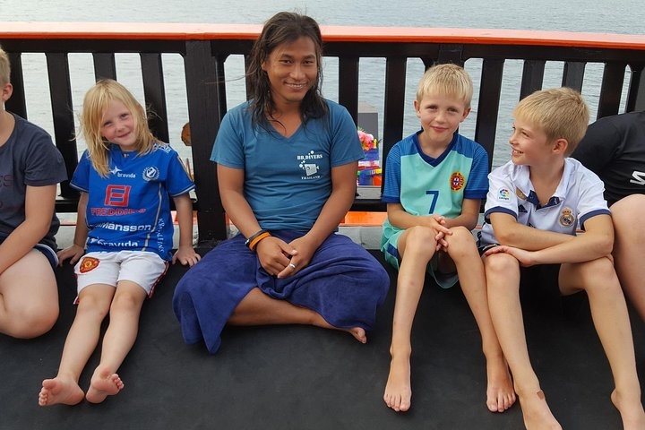 Bubblemaker, experience dive for kids from 8 to 10 years old (Koh Chang), Ko Chang, Thailand
