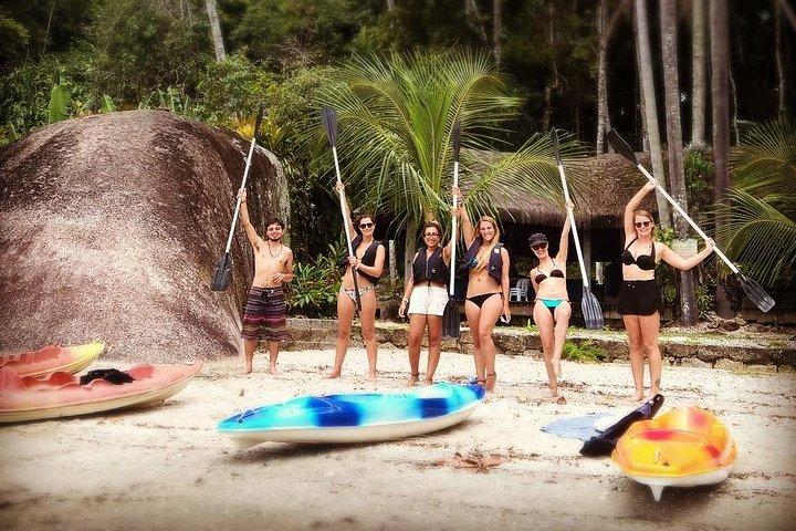 Passeio de caiaque ilhas de Paraty, Paraty, BRASIL