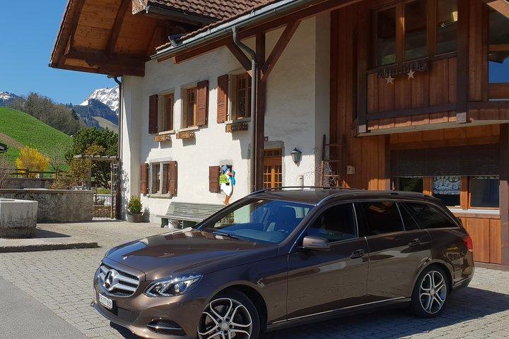 Private transfer from Adelboden to Geneva Airport, Interlaken, Switzerland
