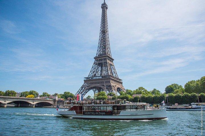 Vedettes de Paris Seine River Cruise Direct Access E-Ticket, Paris, FRANCE