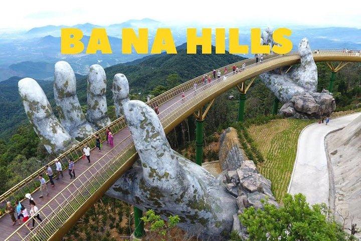 Golden Bridge Ba Na Hills day tour, Hoi An, VIETNAM