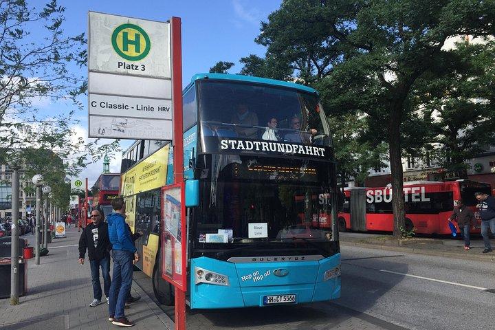 Hop-on Hop-off Tour by Bus, Hamburgo, ALEMANIA