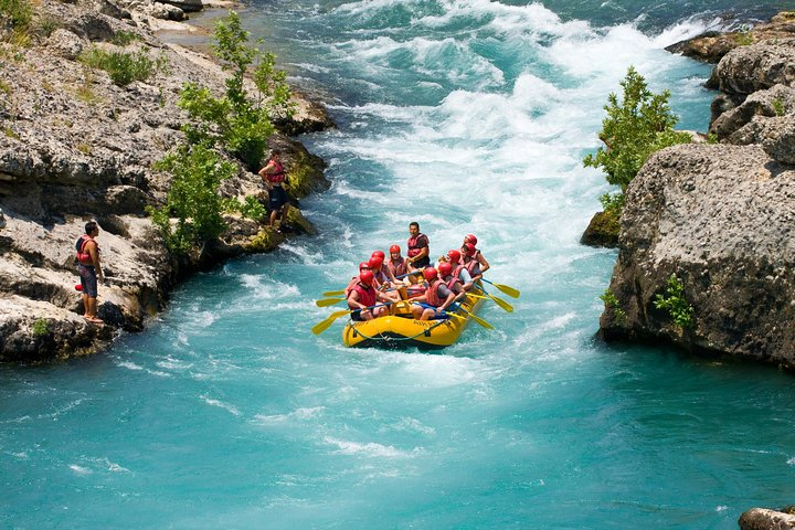 Canyoning and Rafting Tours from Side, Side, TURQUIA